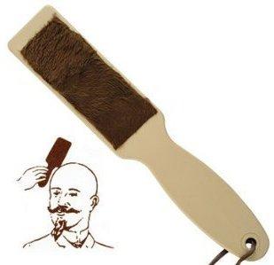 Hair brush for bald men