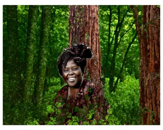 Wangare Maathai - at home with nature