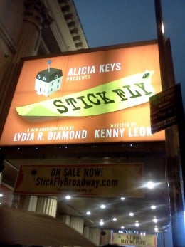 Stick Fly up in lights