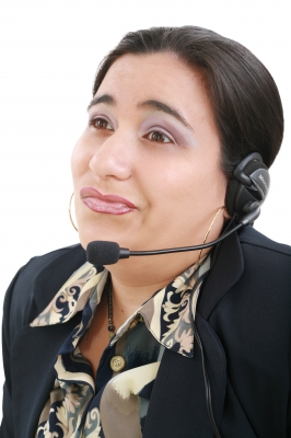 Hello, what's your complaint? (I don't care)