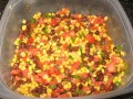 Black Bean and Corn Salad - with an Asian Twist