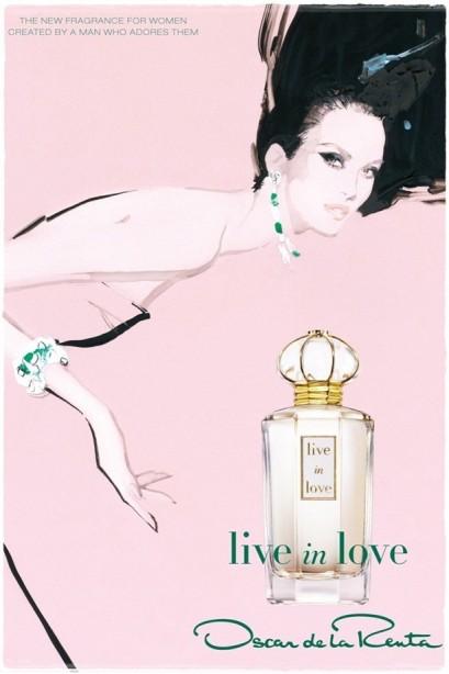 Fashion Iconic designer oscar De La Renta Latest scent for women