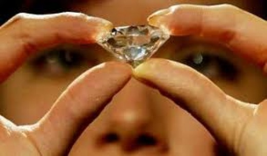 HE GIVES HER A $400,000.00 DIAMOND ON THE SECOND DATE.