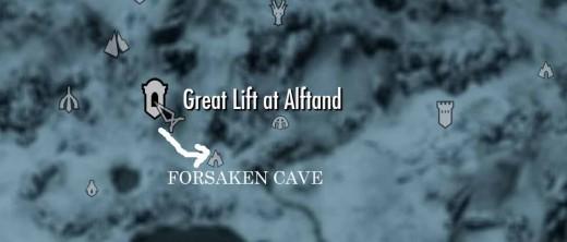Skyrim Forsaken Cave