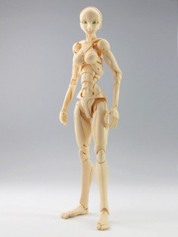 Special Full-action Body Type-3 (S.F.B.T-3) by M-FIELD can replicate human body movements.