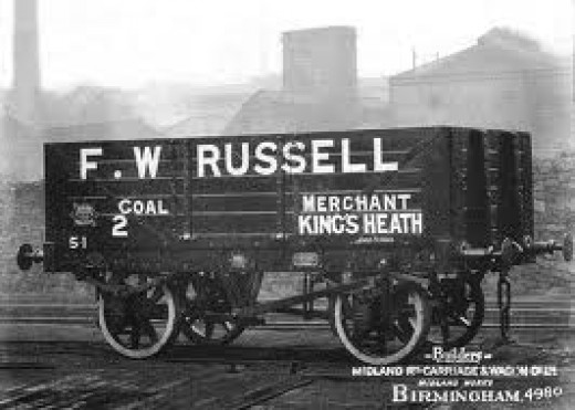 Midland private owner coal wagon