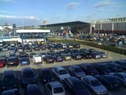 Parking Lot of El Prat Airport