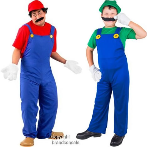 It's the Mario brothers! Couldn't help myself; this picture made me giggle.  From www.geekalerts.com