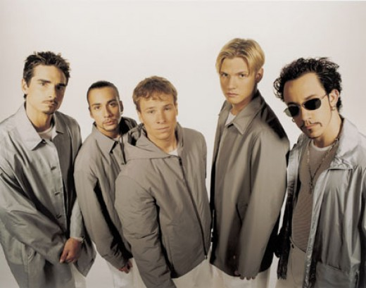I will admit, I totally snorted mid-laugh when I googled Boy Bands. Mostly because the only two related search links were Backstreet Boys and N*SYNC. Who called it? I did! xD From www.starpulse.com