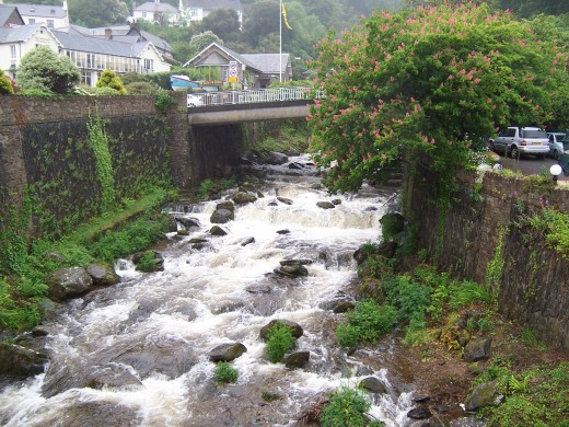 River in Lynmouth