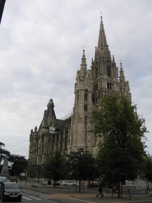 Notre Dame de Laeken church, Brussels, Belgium