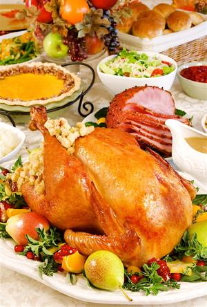 Thanksgiving turkey at disneyland