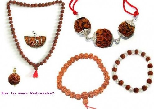 Procedure of wearing Rudraksha Rosary