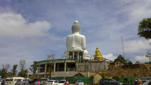 Big Buddha from carpark (N9)