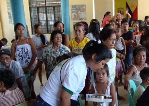 University of the City of Manila Philippines College of Nursing Medical Mission in Naguilian, Pangasinan