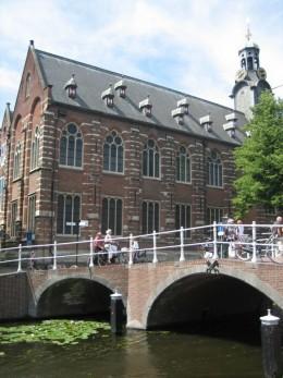 Academy Building (Academiegebouw), main building of the University of the city of Leiden, The Netherlands