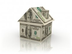 Money saving tip - invest in your home in moderation - House Made of Green Paper Money