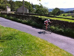 The beautiful countryside- a cyclist's playground.
