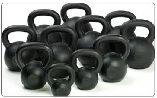 Kettlebells of all sizes!