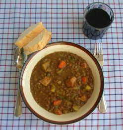 My Mother's Cooking - Lentil Soup