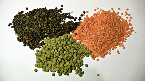 Three Types of Lentils