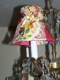Lampshade Craft Project.