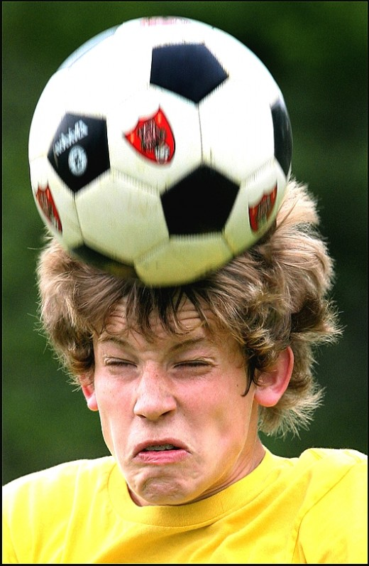 Soccer head injuries