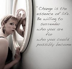 Change from mycuteladybug Source: flickr.com