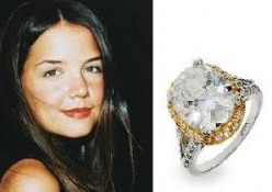 Katie Homes's engagement ring from Tom Cruise