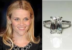 Reese Witherspoon's engagement ring from Jim Toth
