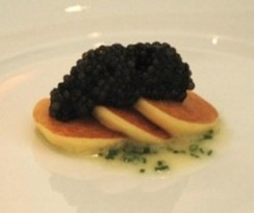 Caviar Crackers