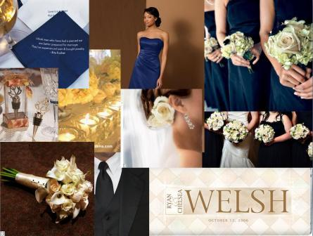 Navy blue and cream wedding ideas: wedding color combo | HubPages
