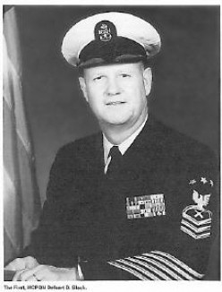 Delbert Black The first Master Chief Petty Officer of the Navy (MCPON)