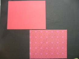card and cardstock background