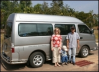 Driver Ubon for touring Thailand