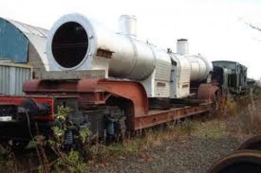 Loaded Trolley wagon