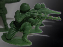Little Green Army Men