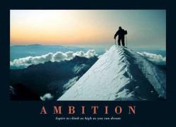 """""""Ambition"""""""