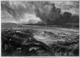Great Yarmouth, Norfolk engraving by William Miller after J M W Turner; C.Heath & HE Lloyd, 'Picturesque Views in England and Wales', London, 1838