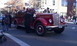 The fire engine rides