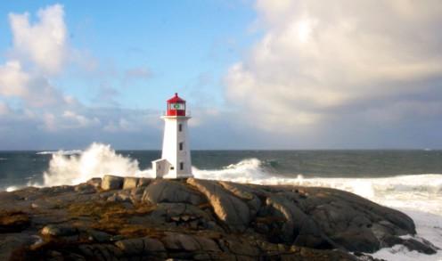 Lighthouse in November