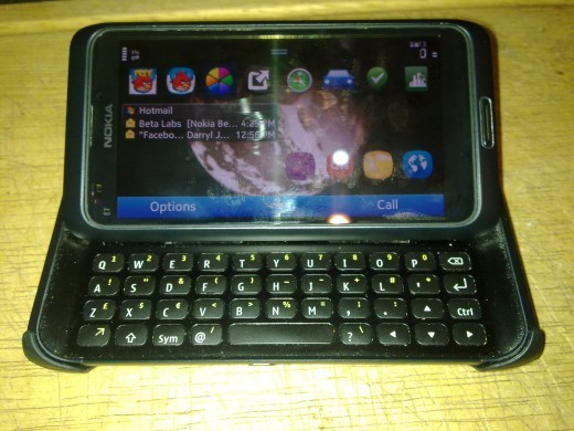 A Number 1, The Nokia E7, my convergence favourite
