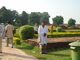 Another view- Nalanda,with author