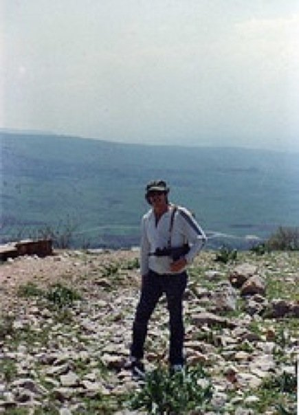 Me guarding the Galilee in 1980 With My Cute Little Uzi