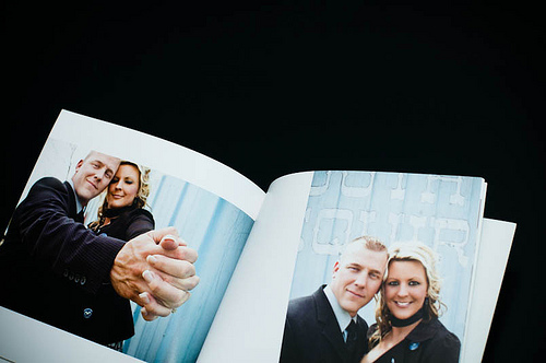 Personalized photo books are a great engagement gift idea!