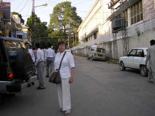 A street in Abbotobad