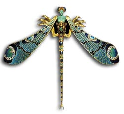 René Lalique dragonfly brooch