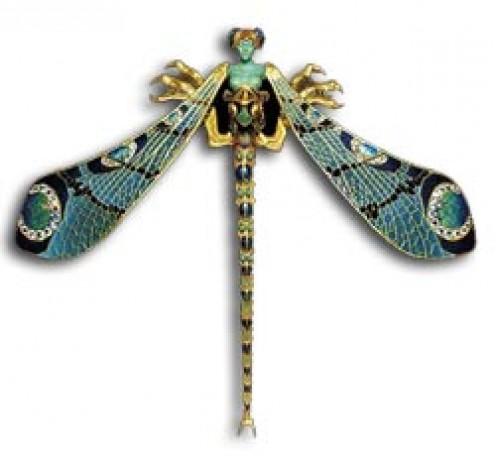 René Lalique dragonfly brooch