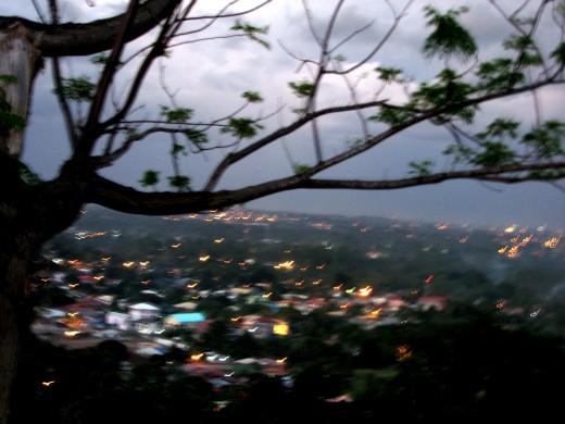 the view of Jack's Ridge