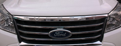 Ford Everest 2011 grille